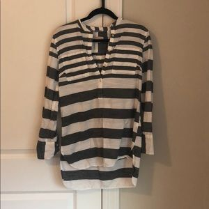 Striped shirt. Size M. Worn once.